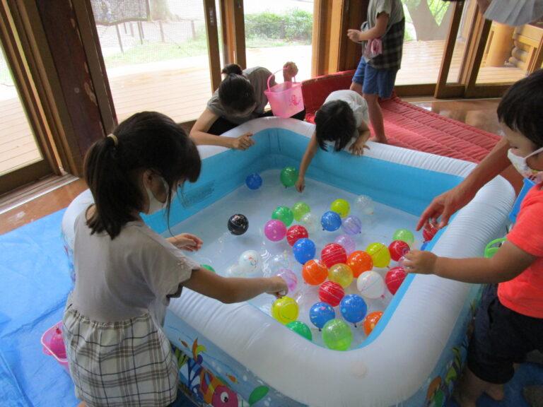 「ログハウスで夏遊び」を開催いたしました。